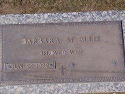 Barbara M Ellis