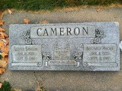 Leonia <I>Sargent</I> Cameron