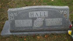 Ola <I>Wynne</I> Hall