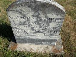 Matilda C. <I>Ferrell</I> Glover