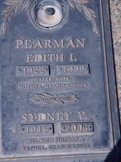 Sydney V. Dice Pearman