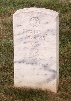 Frank E Adams
