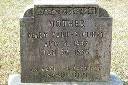 """Mary """"Aunt Molly"""" <I>Carter</I> Curry"""