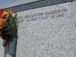 Joy <I>Melancon</I> Baudouin
