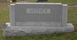 Anna L <I>Stupp</I> Anspach