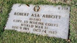 Capt Robert Asa Abbott
