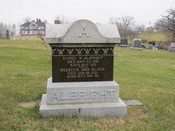 Rebecca Ann <I>Black</I> Albright