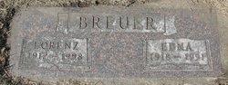 Edna Anna <I>Mueller</I> Breuer