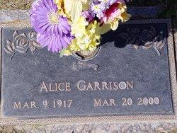 Alice Garrison