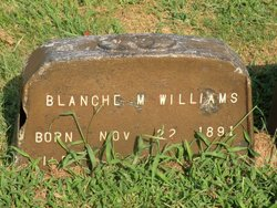 Blanche M <I>Adams</I> Williams