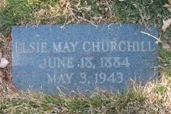 Elsie May <I>Seaney</I> Churchill