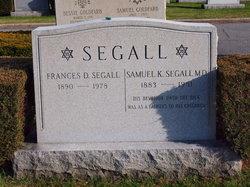 Frances Bertha <I>Dine</I> Segall