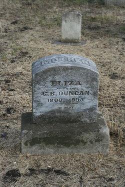 Eliza <I>Frazier</I> Duncan