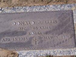 Sgt Donald R Ellis