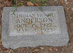 Thomas Henry Anderson