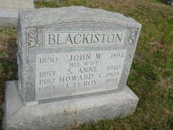 Susan Anne Covington Blackiston (1853-1940) - Find A Grave ...