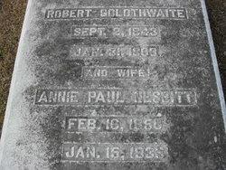 Annie Paul <I>Nesbitt</I> Goldthwaite