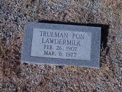 Trueman Pon Lawdermilk
