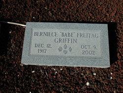 """Berniece """"Babe"""" <I>Freitag</I> Griffin"""