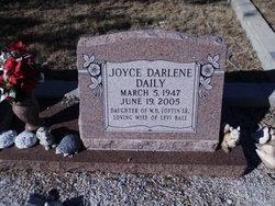 Joyce Darlene <I>Loftin</I> Daily Ball