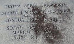 Letitia <I>Abell</I> Crawford