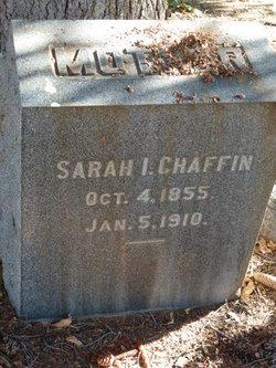 Sarah I <I>Gates</I> Chaffin