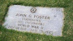 PFC John G Foster