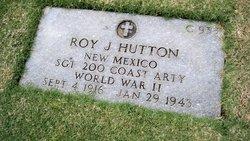 Sgt Roy James Hutton
