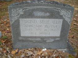 Virginia <I>Belle</I> Auld