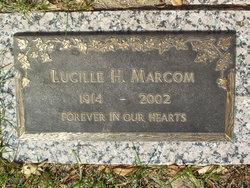 Lucille Helen <I>Atkins</I> Marcom