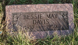Bessie May <I>Biller</I> Davis