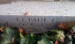 1LT Paul C Zaenglein, Jr