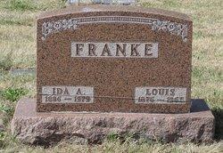 Ida A <I>Dietz</I> Franke