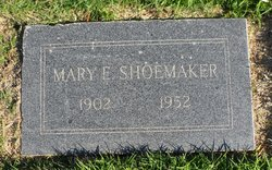 Mary Elizabeth <I>Williams</I> Shoemaker