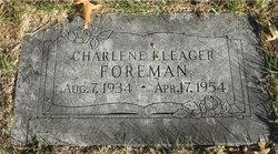 Charlene <I>Kleager</I> Foreman