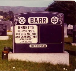 Annette <I>Drolich</I> Barr