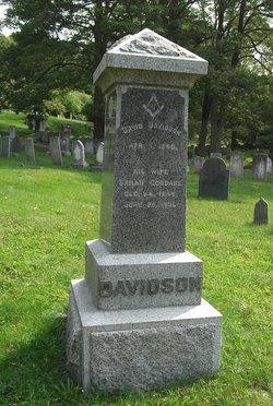 Sarah Ann <I>Goodhue</I> Davidson