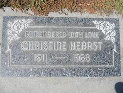 Christine Hearst