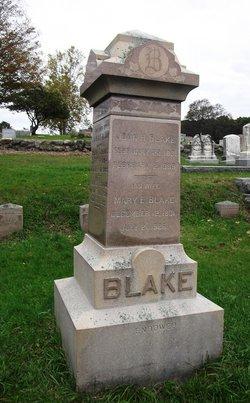 Mary E. <I>Spiller</I> Blake