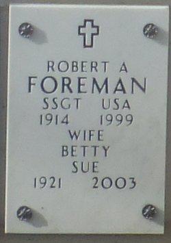 Robert A Foreman