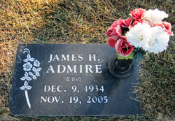 "James H ""Jimmy"" Admire"