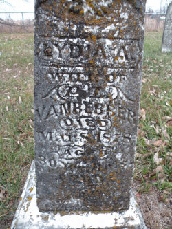 Lydia Ann <I>Kincaid</I> VanBebber