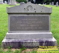 Abby Ann <I>Burgess</I> Aldrich