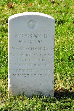 2LT Norman Daniel MacLean, Jr