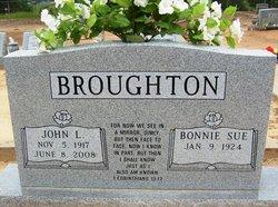 Bonnie Sue <I>Kearby</I> Broughton