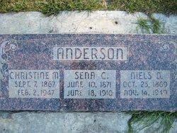 Christine M. <I>Christensen</I> Anderson