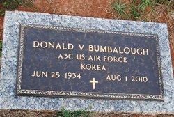 Donald V Bumbalough