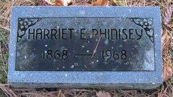 "Harriet E. ""Hattie"" <I>Clark</I> Phinisey"