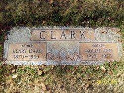 """Mary Ann """"Mollie"""" <I>Lyon</I> Clark"""