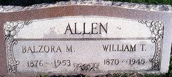Balzora Matilda <I>Griffin</I> Allen